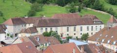 Hôpital - English: Salins-les-Bains, Jura, France