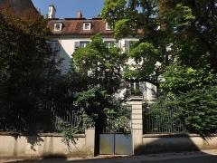 Hôtel Degland de Cessia, dit Maison Lamartine - English: Sight of the Hôtel Degland de Cessia in Saint-Amour, Jura, France.