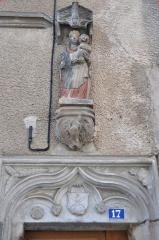 Maison du 16e siècle - Français:   Maison, 17 rue Thiers,  (Inscrit, 2009)