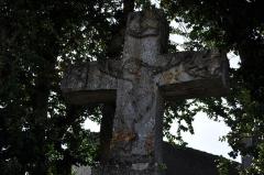 Croix dite Croix Saint-Roch - Français:   Croix-Saint-Roch,  (Classé, 1977) (Haute-Saône)