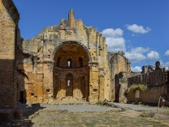 Ancienne abbaye Notre-Dame - English: Our Lady Abbey of Alet-les-Bains, Aude, France