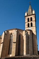 Eglise paroissiale Saint-André - Français:   Église Saint-André d\'Alet-les-Bains
