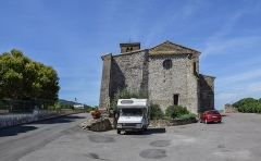 Eglise Saint-Julien et Sainte-Basilisse - English: Saint Julian the Hospitaller church in Barbaira, Aude, France