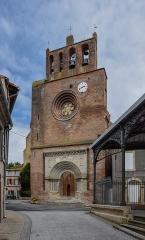 Eglise Saint-Saturnin - English: Saint Saturnin church in Belpech, Aude, France
