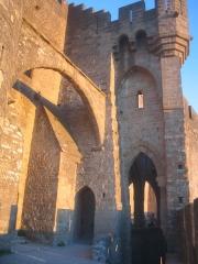 Cité de Carcassonne - Barbacane de l'Aude à Carcassonne