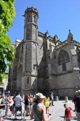 Eglise Saint-Nazaire - English: Exterior of Basilique Saint-Nazaire de Carcassonne