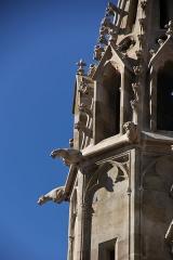 Eglise Saint-Nazaire - Basilique Saint-Nazaire, Carcassonne, détail du clocher