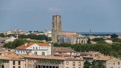 Eglise Saint-Vincent - English: View of the Saint Vincent church of Carcassonne, Aude, France