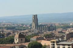 Eglise Saint-Vincent -  Église Saint-Vincent de Carcassonne