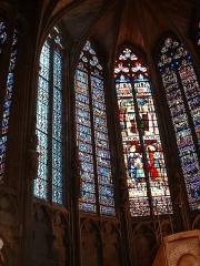 Eglise Saint-Vincent - Español: Vidrieras de la iglesia de XXX. Carcasona (Francia)