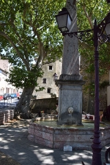 Grande fontaine - Français:   Grande fontaine à Caunes-Minervois