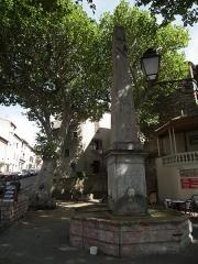 Grande fontaine - Français:   Géolocalisation: 43°19\'39\