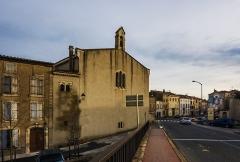 Eglise paroissiale Notre-Dame de la Rominguère - English: Church of Coursan, Aude, France.