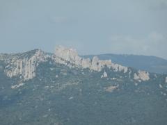 Ruines du château de Peyrepertuse - Vue du Château de Peyrepertuse