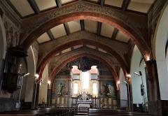 Eglise Saint-Michel - Français:   Espéraza - Église Saint-Michel - Nef vers le chœur