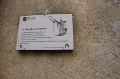 Ancienne chapelle des Pénitents - Français:   Chapelle des Pénitents de Fleury
