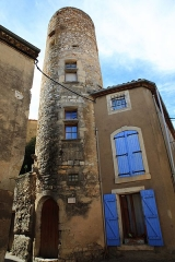 Tour dite de Balayard - This building is indexed in the base Mérimée, a database of architectural heritage maintained by the French Ministry of Culture,under the reference PA00102690 .