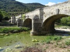 Pont sur le Lauquet - English: Greffeil Pont sur le Lauquet