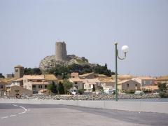 Ruines du château-fort -  Vieux-village de Gruissan dominé par la tour Barberousse (11)