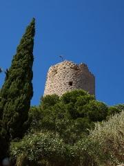 Ruines du château-fort - La tour Barberousse à Gruissan dans l'Aude