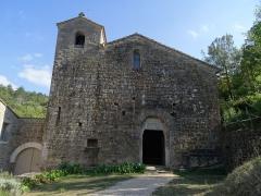 Ancienne abbaye de Rieunette - English: Abbaye de Rieunette . Eglise