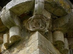 Ancienne abbaye Sainte-Marie d'Orbieu - Front est de l'abbaye Sainte-Marie de Lagrasse (11).