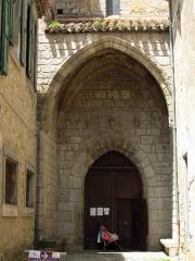 Eglise paroissiale Saint-Michel - Català: Església parroquial de Saint-Michel (La Grassa)