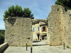 Porte de l'Eau - Català: Pòrta de l'Aiga (La Grassa)