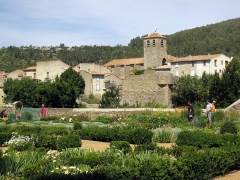 Porte de l'Eau - Català: Antiga abadia Sainte-Marie d'Orbieu (La Grassa)