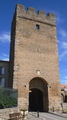 Tour du Portail-Neuf - Français:   La tour du portail neuf à Laure-Minervois