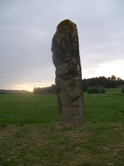 Menhir - This building is indexed in the Base Mérimée, a database of architectural heritage maintained by the French Ministry of Culture,under the reference PA00102758 .