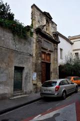 Ancienne chapelle des Pénitents-Blancs - Français:   Chapelle des Pénitents blancs, Narbonne