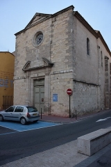 Chapelle des Pénitents-Bleus - Français:   Chapelle des Pénitents bleus, Narbonne