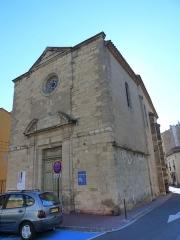Chapelle des Pénitents-Bleus - Français:   Chapelle des Pénitents bleus (Inscrit)