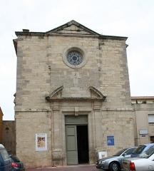 Chapelle des Pénitents-Bleus - Català: Capella dels Penitents Blaus de Narbona - façana