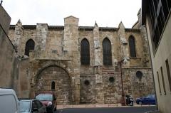 Ancienne église Notre-Dame du Bourg de Lamourgnié - Català: Antiga església de Lamourguier - costat dret