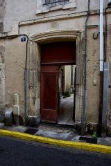 Maison - Français:   Maison, 9, 11 rue Hoche, Narbonne