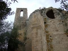 Ruines de l'ancienne église Notre-Dame-des-Oubiels - Français:   Ruines de l\'ancienne église Notre-Dame-des-Oubiels à Portel-des-Corbières (Aude)