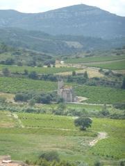 Ruines de l'ancienne église Notre-Dame-des-Oubiels - Français:   Église Notre-Dame-des-Oubiels à Portel des Corbières (11)
