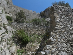 Ruines du château - This building is indexed in the Base Mérimée, a database of architectural heritage maintained by the French Ministry of Culture,under the reference PA00102871 .
