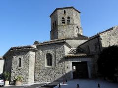 Eglise de l'Assomption - Extérieur de l'église Notre-Dame-de-l'Assomption de Rieux-Minervois (11).