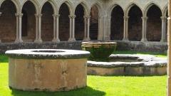 Ancienne abbaye Saint-Hilaire -  Abbaye de Saint-Hilaire Aude (11) vue du puits