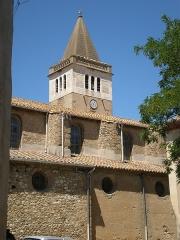 Eglise - Français:   Église de Saint-Laurent-de-la-Cabrerisse
