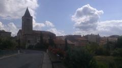Eglise - Français:   Église Saint-Laurent de Saint-Laurent-de-la-Cabrerisse, dans l\'Aude (France)