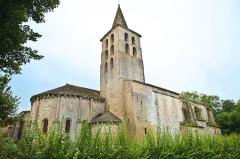 Ancienne abbaye de Saint-Papoul - Abbaye de Saint-Papoul, l'église