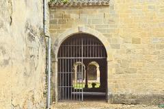 Ancienne abbaye de Saint-Papoul - Abbaye de Saint-Papoul, entrée du cloître