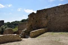 Ruines du château - Château de Saissac