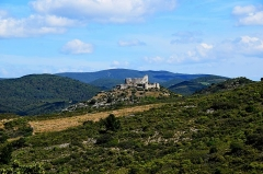 Ruines du Fort d'Aguilar - English: castle of Aguilar, Tuchan
