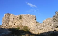 Ruines du Fort d'Aguilar - Fort d'Aguilar à Tuchan (Aude)