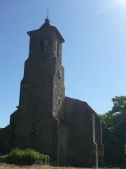 Vestiges de la chapelle Notre-Dame-de-la-Lauze - Français:   Eglise Saint-Pierre-es-Liens de Villarlong (et non Notre-Dame-de-la-Lauze) à Villarzel-Cabardès (Aude)